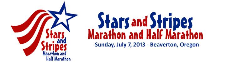 Stars and Stripes Marathon and Half Marathon Logo