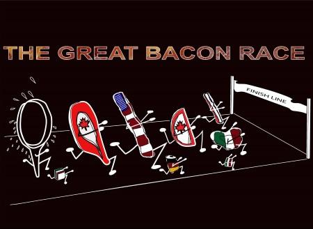 2015 Great Bacon Race Logo