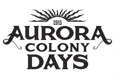 2015 Aurora Colony Days Logo