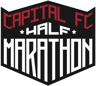 2015 Capital FC Half Marathon, 10K, 5K Logo