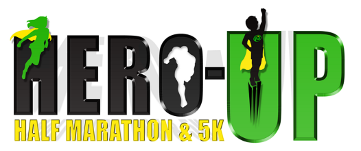 2018 Hero Up Half Marathon and 5K Logo