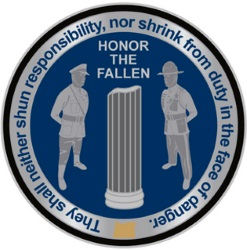 2015 OSP Fallen Trooper 5K, 10K, and CrossFit Relay Logo