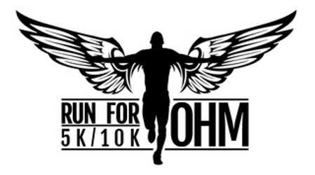 2015 Run for Ohm 5K, 10K Logo