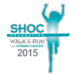 2015 11th Annual SHOC Walk & Run for Ovarian Cancer Logo