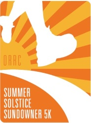 2015 ORRC Summer Solistice Sundowner 5K Logo