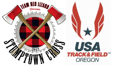 2015 Stumptown XC Race #4 Pier Park and USATF Oregon XC Championships W6K/M8K Logo