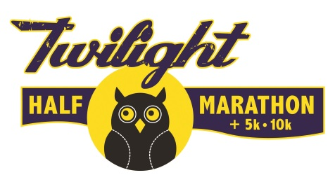 2017 Twilight Half Marathon, 10K, 5K Logo
