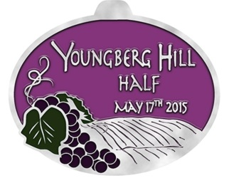 2015 Youngberg Hill Half Marathon, 10K, 5K Logo