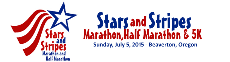 2015 Stars and Stripes Marathon, Half Marathon, 5K Logo