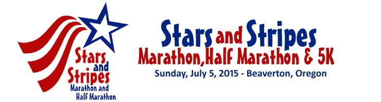 2015 Stars and Stripes Marathon, Half Marathon, 5K Logo