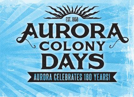 2016 Aurora Colony Days Logo