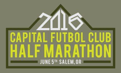 2016 Capital FC Half Marathon, 10K, 5K Logo