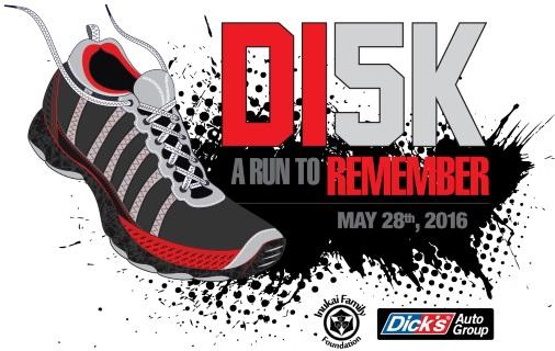 2016 Dick Inukai 5K Logo