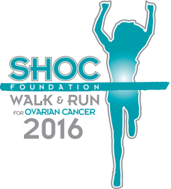 2016 12th Annual SHOC Walk & Run for Ovarian Cancer Logo