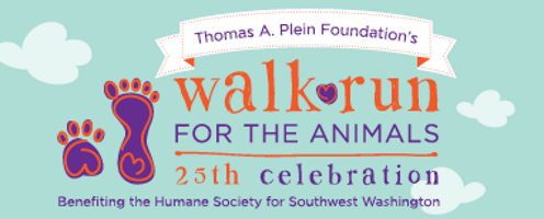 2016 SW Humane Walk\Run for the Animals 5K Logo