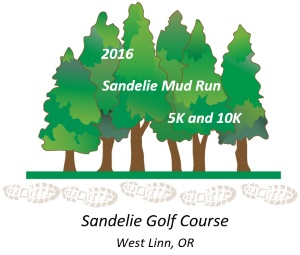 2016 Sandelie Mud Run Logo