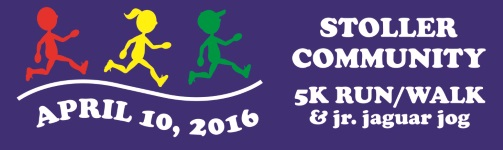 2016 Stoller Community 5K Logo