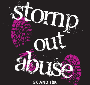 2016 Stomp Out Abuse 5K and 10K Logo