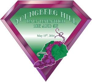 2016 Youngberg Hill Half Marathon, 10K, 5K Logo