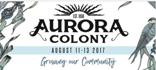 2017 Aurora Colony Days Logo