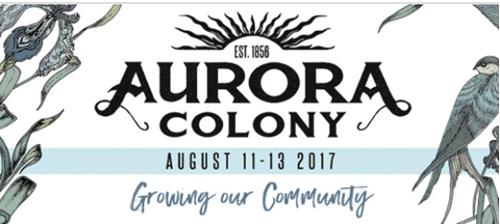 2017 Aurora Colony Days Logo