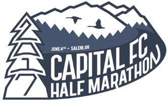 2017 Capital FC Half Marathon, 10K, 5K Logo