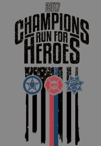 2017 Champions Run For Heroes Logo