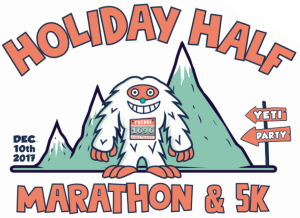 2017 Holiday Half and 5K Logo