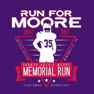 2017 Parker Archie Moore 3.5 Mile Memorial Run/Walk Logo