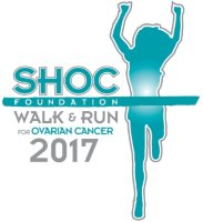 2017 13th Annual SHOC Walk & Run for Ovarian Cancer Logo