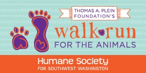2017 SW Humane Walk\Run for the Animals 5K Logo