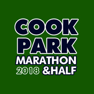 2018 Cook Park Marathon and Half Marathon Logo