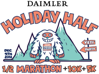 2018 Holiday Half, 10K, and 5K Logo
