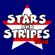 2018 Stars and Stripes Marathon and Half Marathon Logo