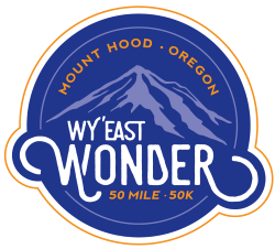 2018 Wy'East Wonder 50M 50K Logo