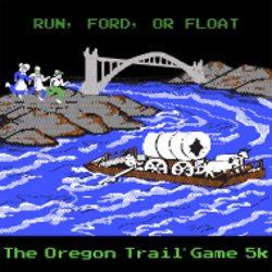 2018 Oregon Trail Game 5K Logo