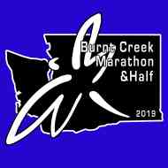 2019 Burn Creek Marathon and Half Marathon Logo