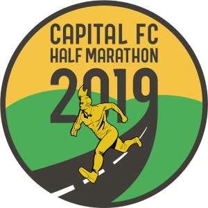2019 Capital FC Half Marathon, 10K, 5K Logo