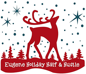 2019 Eugene Holiday Hustle Logo