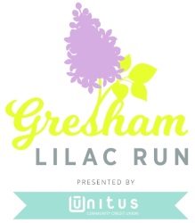 2019 Gresham Lilac Run 5K 10K Half Marathon Logo