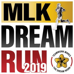 2019 MLK Dream Run Logo