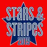 2019 Stars and Stripes Marathon and Half Marathon Logo