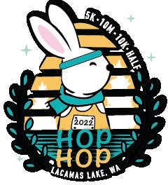 2020 Hop Hop VIRTUAL Half 10K 5K Logo