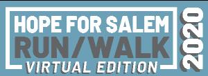 2020 Virtual Hope for Salem Run/Walk Logo