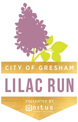 2020 Virtual Gresham Lilac Run 5K 10K Half Marathon Logo