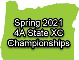 2021 Oregon 4A State XC Championships Logo