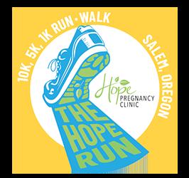 2021 The Hope Run Logo