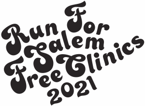 2021 Run for Salem Free Clinics Logo