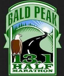 2015 Bald Peak Half Marathon Logo