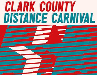 2021 Clark County Distance Carnival Logo